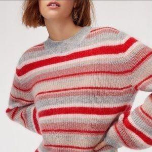 Aritzia Little Moon Gardenia Sweater